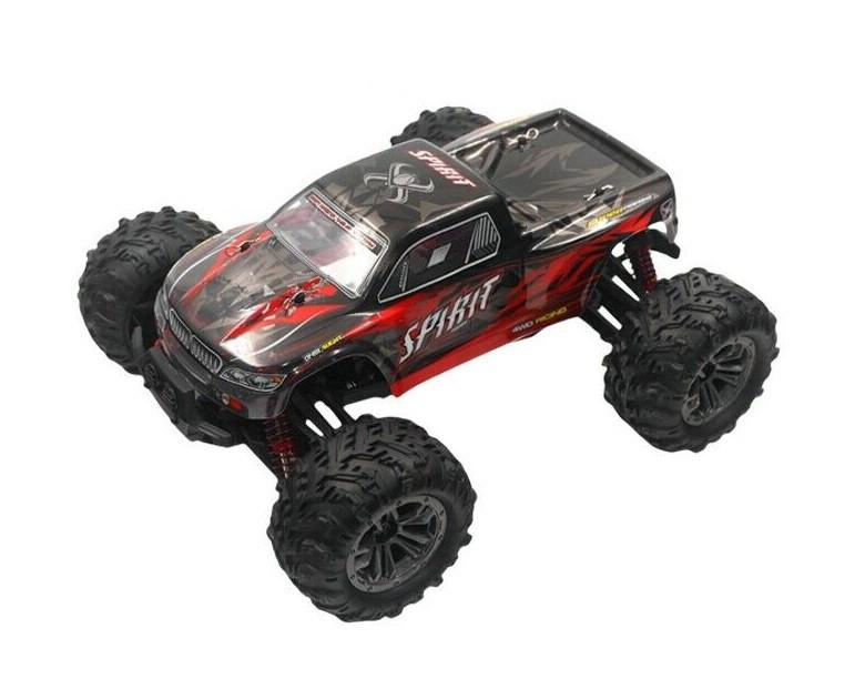 RC auto na ovládanie XLH Spirit 4WD 1:16 2.4GHz RTR - červené - 9135