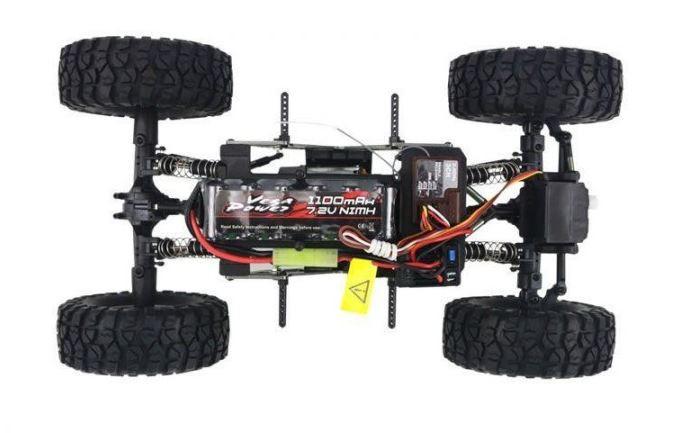 RC Himoto Mini Rock Crawler na ovládanie 1:16 4WD 2,4 GHz - modrá