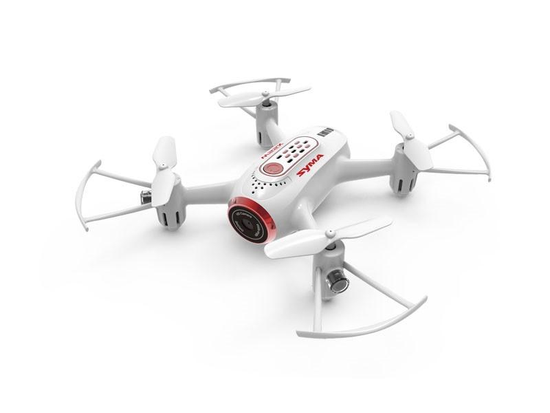 RC dron na ovládanie Syma X22SW FPV WiFi kamera - bielý