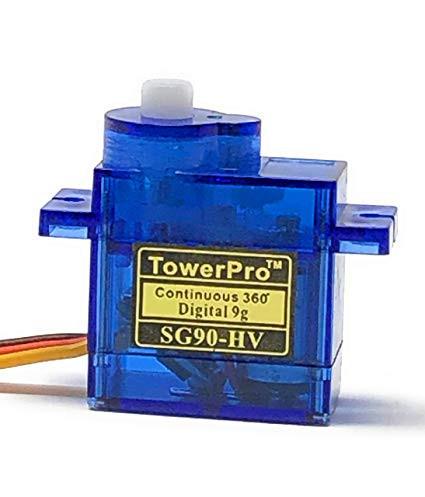 Tower Pro: Originálne servo SG90 s 360 °