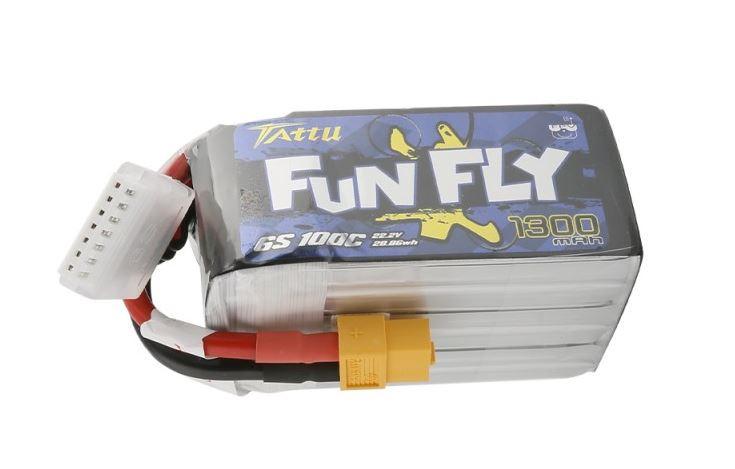 Batéria LiPo 1300mAh 22.2V 100C Funfly Series Gens Ace