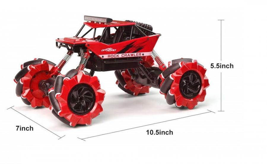 NQD: Drift Climber 4WD 1:16 2,4 GHz RTR - červená