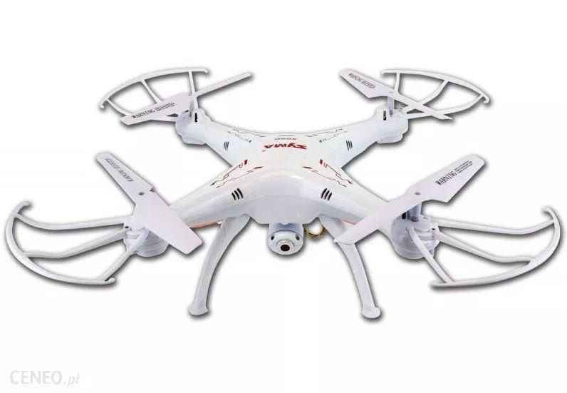RC dron Syma X5SC EXPLORERS 2 s HD 720p kamerou, 2,4GHz biely