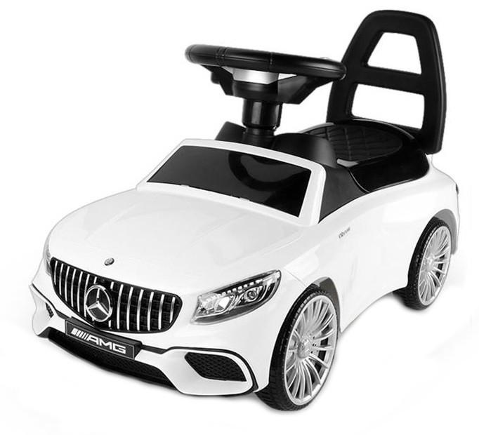 Odrážadlo pre deti auto Mercedes-Benz AMG - biely licencovaný