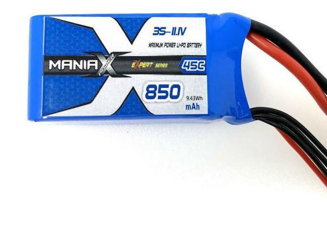 Batéria LI-PO 850mAh 11.1V 45C eXpert ManiaX