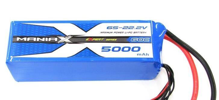 LiPo Batéria 5000mAh 22.2V 45C eXpert ManiaX