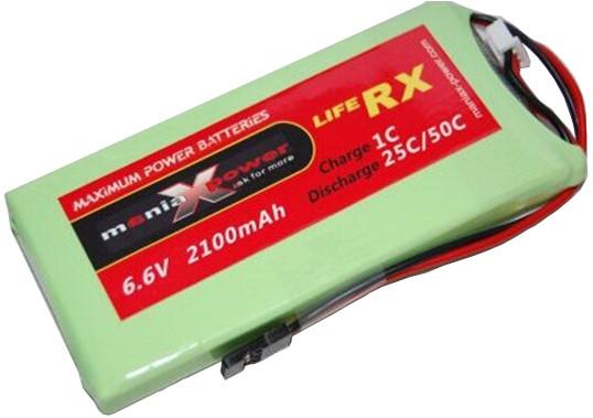 Batéria ManiaX: 2200mAh 6.6V 25C LiFePO4