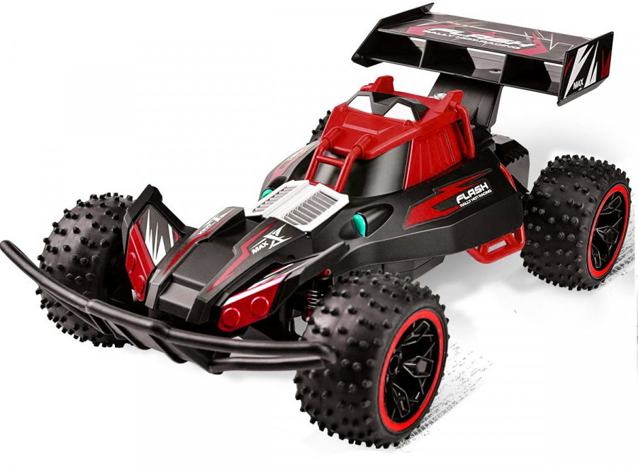 RC auto NQD: Flash 1:10 2.4GHz 2WD RTR - červené