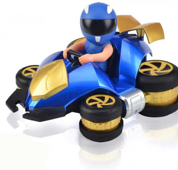 RC hračka NQD: automobil Stunt 1:18 2,4 GHz 757-083 - modrý