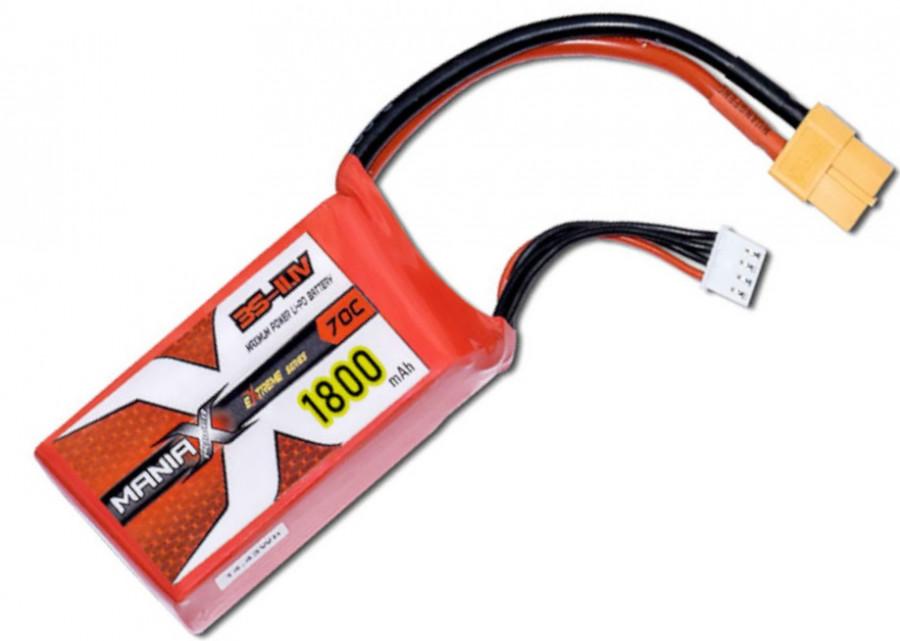 Batéria LIPO 1800mAh 11.1V 70C eXtreme ManiaX