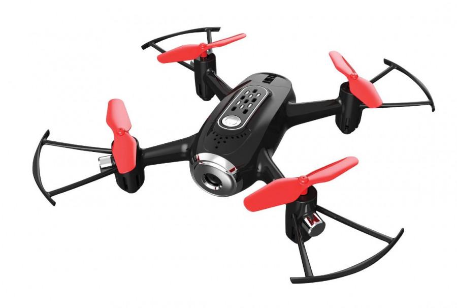 RC dron na ovládanie Syma X22SW FPV WiFi kamera,  červená