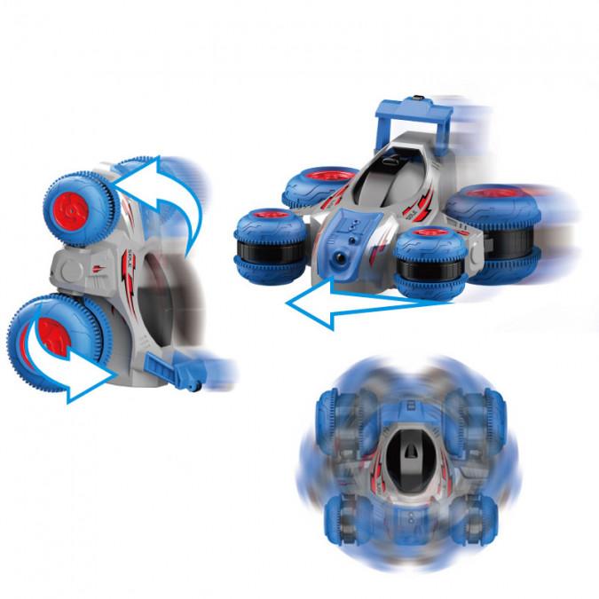 Hračka na ovládanie HB: Turbine Storm 1:18 2,4 GHz - modrá