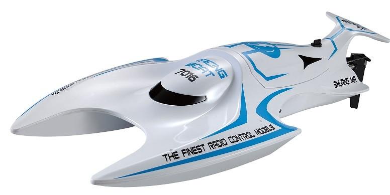 Rýchlostný čln na diaľkové ovládanie Double Horse 7016 2.4GHz - modrý