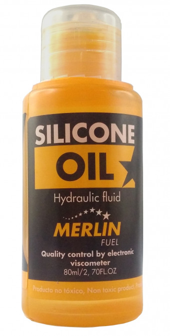 Olej pre tlmiče a diferenciály Merlin 4000 cSt - 80ml