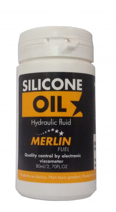 Olej do tlmiča Merlin 60.000 cSt - 80ml