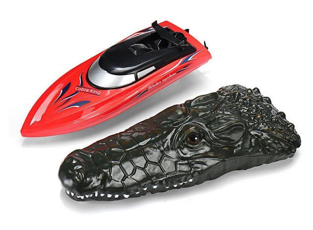 RC loďka na diaľkové ovládanie Cobra King 1:18 2,4 GHz červená
