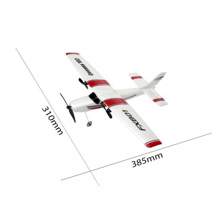 RC Lietadlo na diaľkové ovládanie TPC: Mini Cessna 182 3CH 2.4GHz RTF
