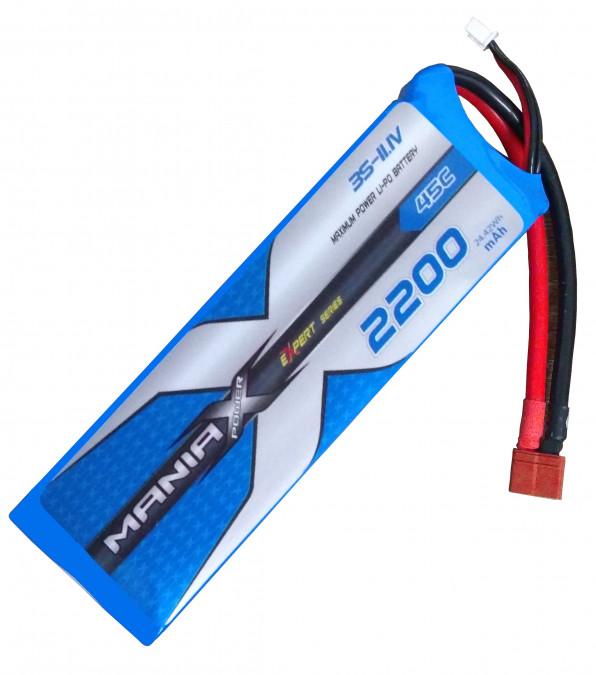 Batéria LIPO 2200mAh 11.1V 45C eXpert ManiaX