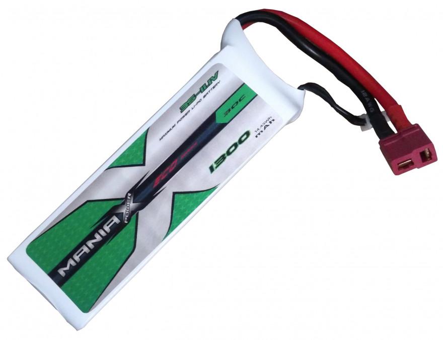 Batéria LI-PO 1300mAh 11.1V 30C ManiaX