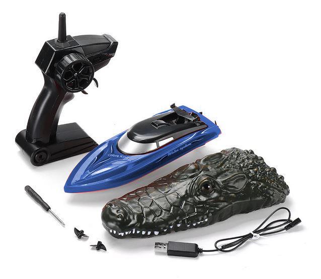 RC loďka na diaľkové ovládanie Cobra King 1:18 2,4 GHz modrá