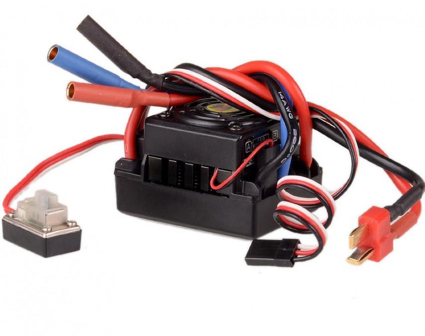 Brushless regulátor Himoto 50A 2-3S BEC 6V / 2,0A - E245T