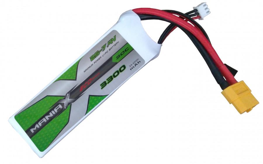 Batéria LI-PO 3300mAh 7.4V 30C RX-TX