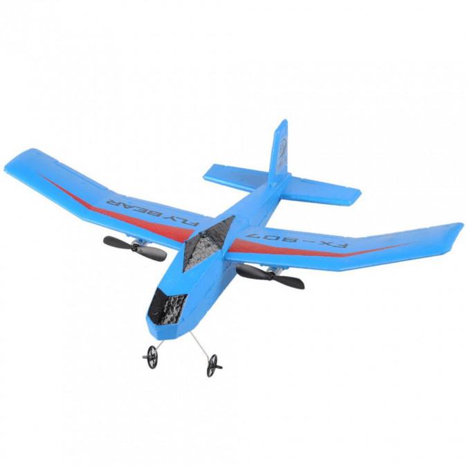 RC lietadlo na ovládanie Vetroň Fly Bear 2,4 GHz RTF - modrý