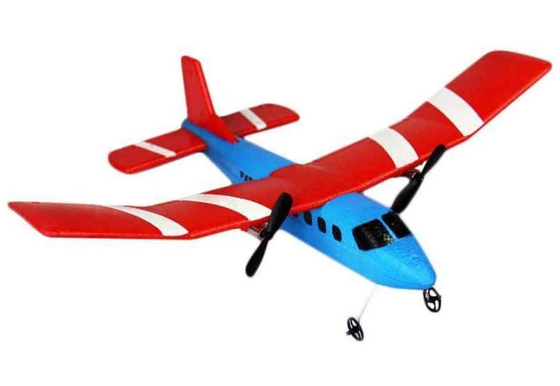 RC lietadlo na diaľkové ovládanie TPC Vetroň Fly Bear 2,4 GHz RTF - červený