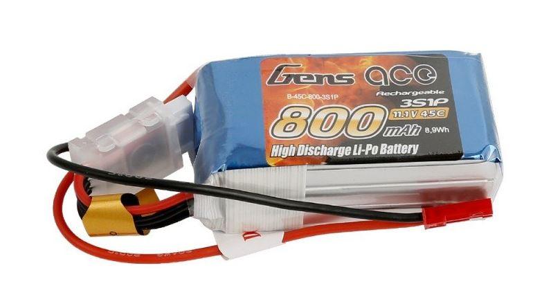 Batéria LiPo 800mAh 11.1V 45C Gens Ace