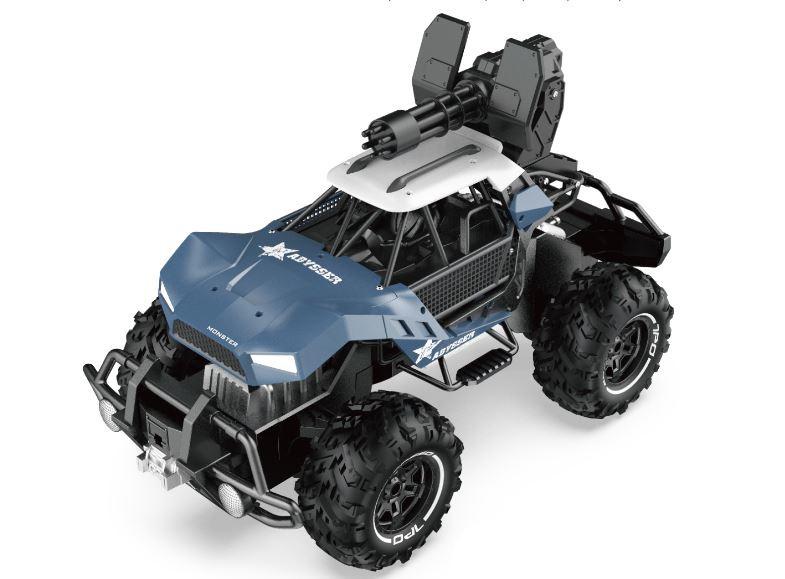 Auto na ovládanie SL: Buggy Performance Car SL-244A 2,4GHz, strieľa - modré