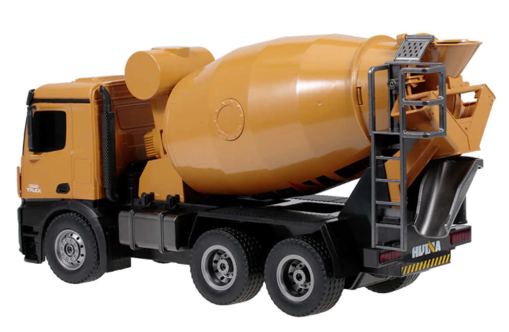 Huina (H-Toys): RC Domiešavač betónu s rotačným bubnom na ovládanie 1:14 2,4 GHz