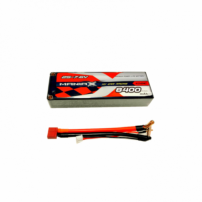 Batéria Lipo 8400mAh 7.6V 100C HardCase ManiaX