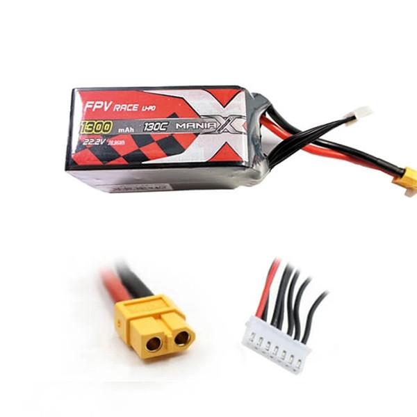 LiPo Batéria 1300mAh 22.2V 130C eXpert ManiaX