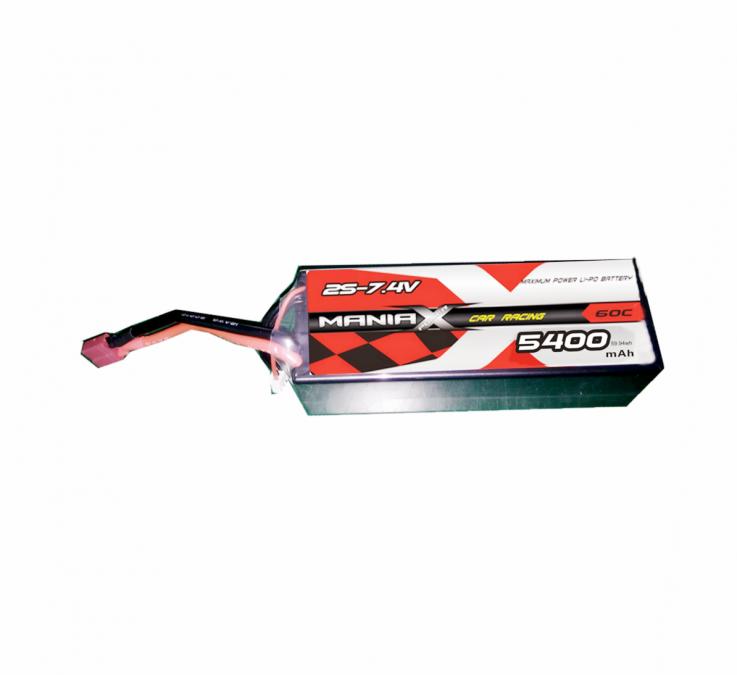 LiPo Batéria 5400mAh 7.4V 60C eXpert ManiaX
