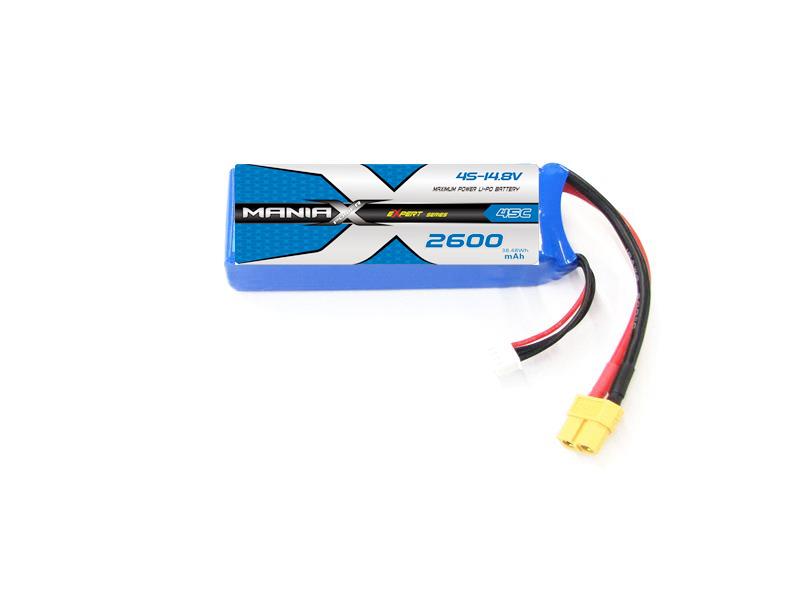 LiPo Batéria 2600mAh 14.8V 45C eXpert ManiaX