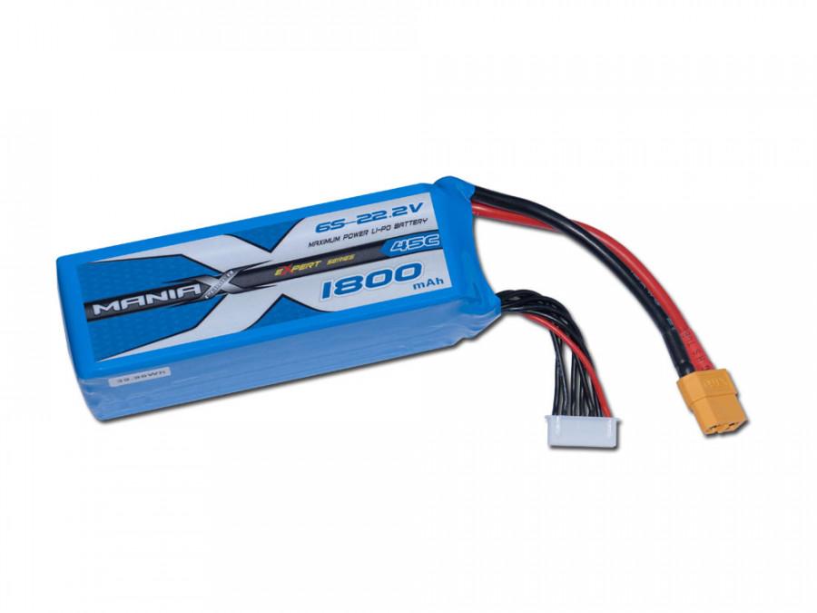 LiPo Batéria 1800mAh 22.2V 45C eXpert ManiaX