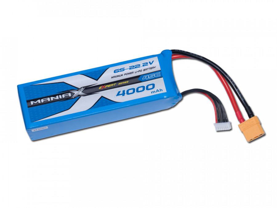 LiPo Batéria 4000mAh 22.2V 45C eXpert ManiaX