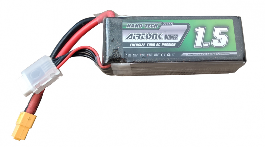 Batéria Lipo 1500mAh 14.8V 60C Nano-Tech