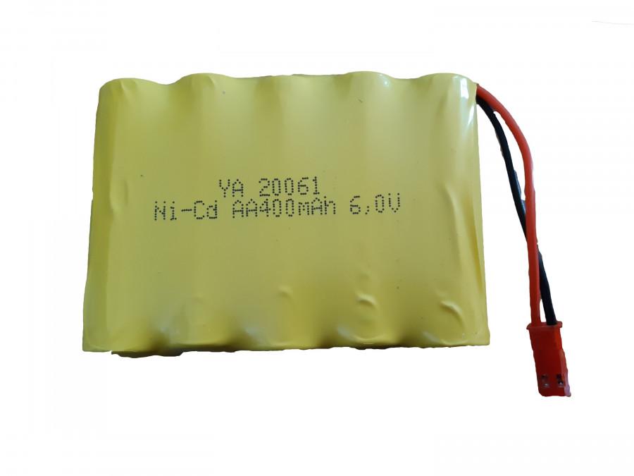Batéria 400mAh 6,0V NiCd JST do H-Toys