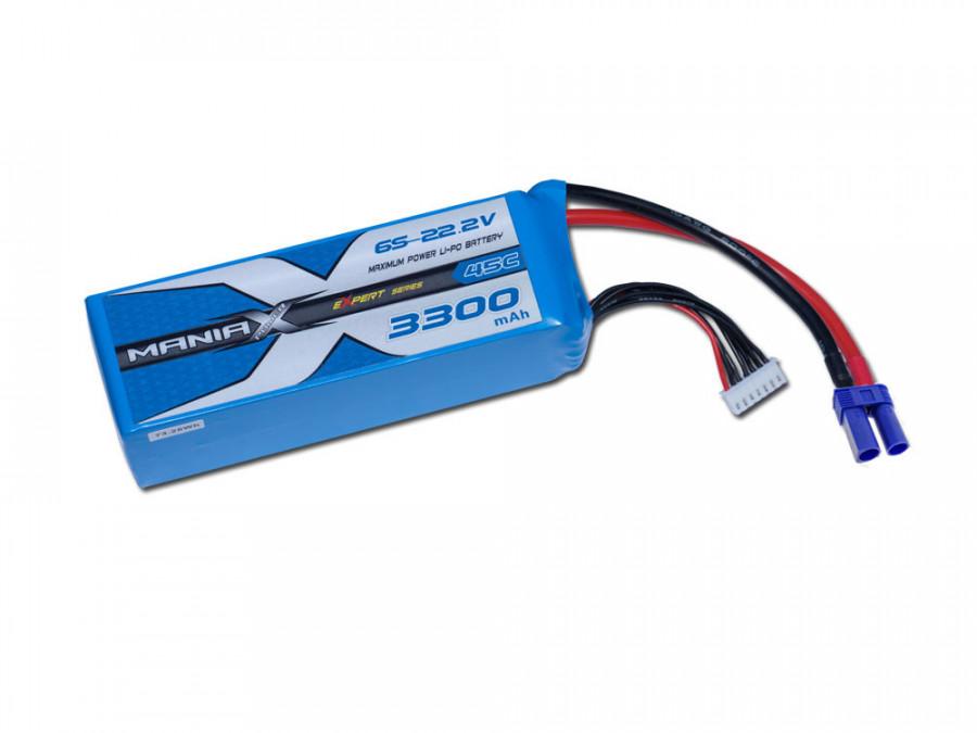 LiPo Batéria 3300mAh 22.2V 45C eXpert ManiaX