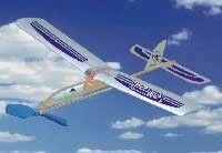 Hádzadlo HM: lietadlo Vážka s podvozkom