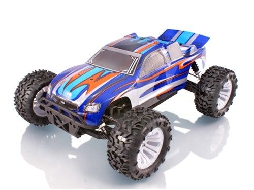 RC auto VRX Racing: Sword EBD 2.4GHz  RTR - modrá