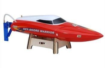 RC loď na ovládanie Joysway: Offshore Warrior Motorboat 2.4GHz, RTR, 70km/h) - červená