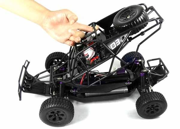 Klatka (exo cage) modelu Dirt Whip z Himoto