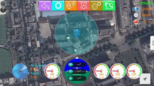 Aplikacja WK-iGCS na urządzenia iPhone