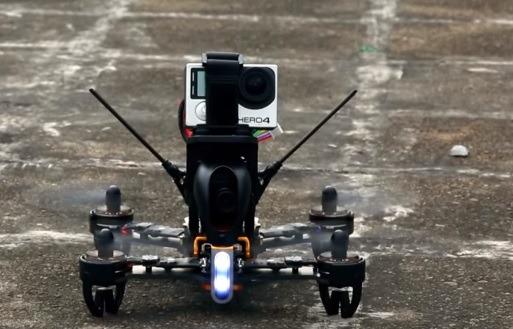 Dron Walkera F210 z kamerą GoPro/iLook+