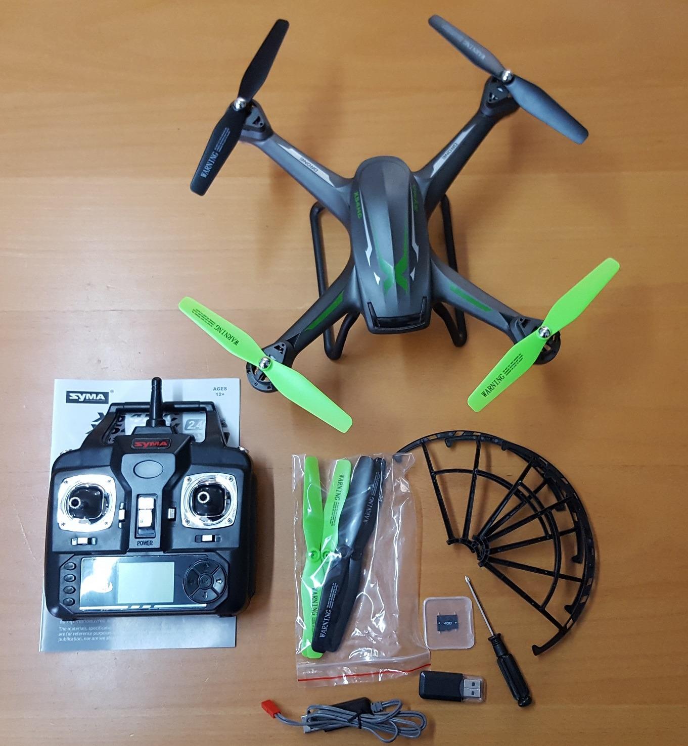 Syma X54HC z kamerą