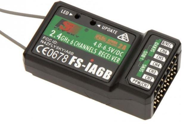 Odbiornik z telemetrią FS-iA6B