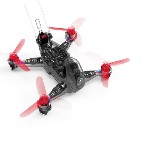 Quadcopter FPV Rodeo 110