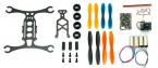 Mini rama quadcopter DWhobby QX110 110mm KIT + Silniki + Kontroler + Kamera